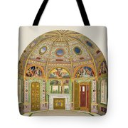 Fresco Decoration In The Summer House Tote Bag