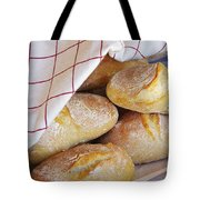 Fresh Bread Tote Bag by Carlos Caetano