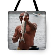 Fresh Catch Of Fish Castries St. Lucia Tote Bag
