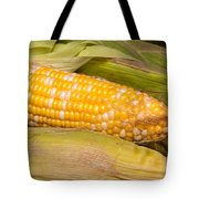 Fresh Corn At Farmers Market Tote Bag by Teri Virbickis