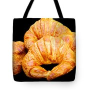 Fresh Croissants Tote Bag