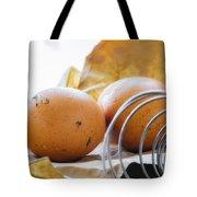 Fresh Eggs Just Laid Tote Bag