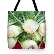 Fresh Fennel At The Market Tote Bag