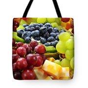 Fresh Fruits And Cheese Tote Bag