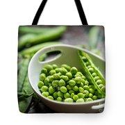 Fresh Garden Peapods Tote Bag