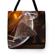 Fresh Glass Cup Of Tea Tote Bag