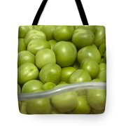 Fresh Green Peas Tote Bag