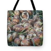 Fresh Harvest Onions Tote Bag