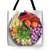 Fresh Ingredients For Cooking Curry Sauce Tote Bag