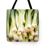 Fresh Leeks Tote Bag
