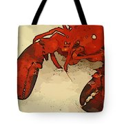 Fresh Lobster Tote Bag