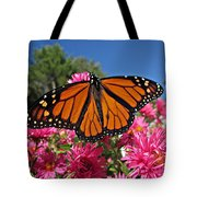 Fresh Monarch Butterfly Tote Bag