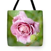 Fresh Morning Rose Tote Bag