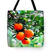 Fresh Orange On Plant Tote Bag