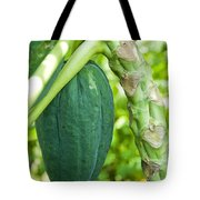 Fresh Papaya Tote Bag
