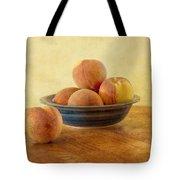 Fresh Peaches Tote Bag