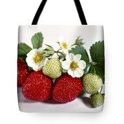 Gardenfresh Strawberries Tote Bag