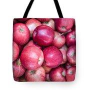 Fresh Red Apples Tote Bag