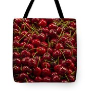 Fresh Red Cherries Tote Bag