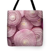 Fresh Red Onion Tote Bag
