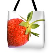 Fresh Red Strawberry Tote Bag