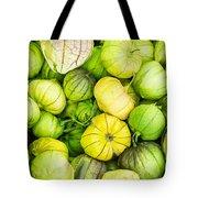 Fresh Tomatillos Tote Bag