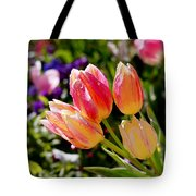Fresh Tulips Tote Bag