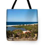 Fresh Water Lagoon At Playa La Poza Tote Bag