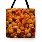 Fresh Yellow Cherries Tote Bag