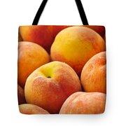 Freshness Of Peaches Tote Bag