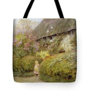 Freshwater Cottage Wc On Paper Tote Bag