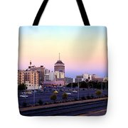 Fresno Skyline Into The Evening Tote Bag