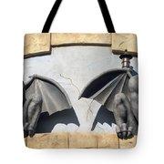 Frick And Frack Santa Cruz Gargoyles Tote Bag