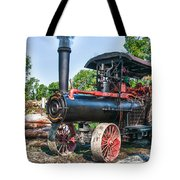 Frick Steam Tractor Tote Bag