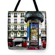 Frida In Paris Tote Bag