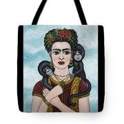 Frida In The Sky Tote Bag