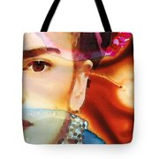 Frida Kahlo Art - Seeing Color Tote Bag
