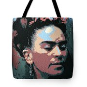 Frida Kahlo In Colour Tote Bag
