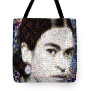 Frida Kahlo Mosaic Tote Bag