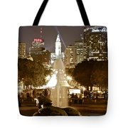 Friday On The Art Museum Steps Tote Bag
