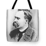 Friedrich Wilhelm Nietzsche In 1883 Tote Bag