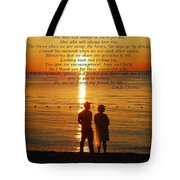 Friend For Life Poem Tote Bag