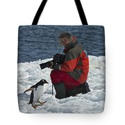Friend Of The Penguins... Tote Bag