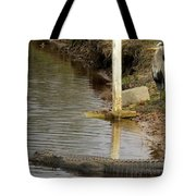 Friendly Hunting Together Tote Bag