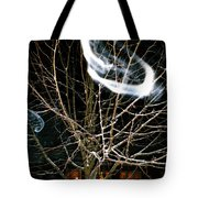 Friendly Invisibles Visiters From Beyond Flying In Over Night Tote Bag