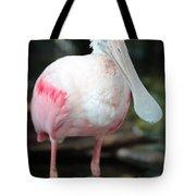 Friendly Spoonbill Tote Bag