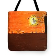Friendly Sunset Tote Bag