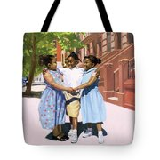 Friends Tote Bag by Colin Bootman