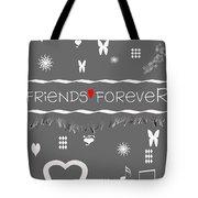 Friends Forever Valentine Tote Bag