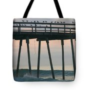Friends Waiting For Sunrise Tote Bag